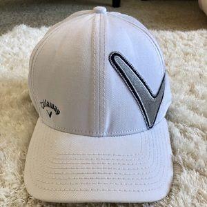 0bea784b010 ... Men s White Callaway Golf New Era Hat ...